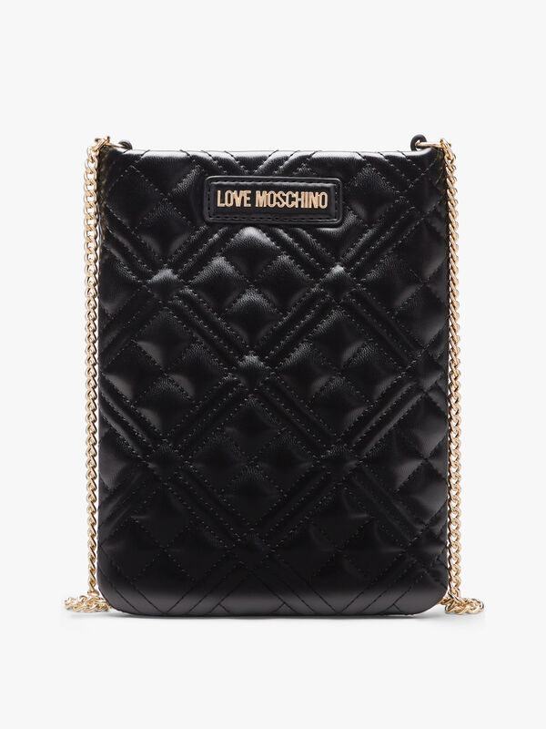 Quilted North South Crossbody