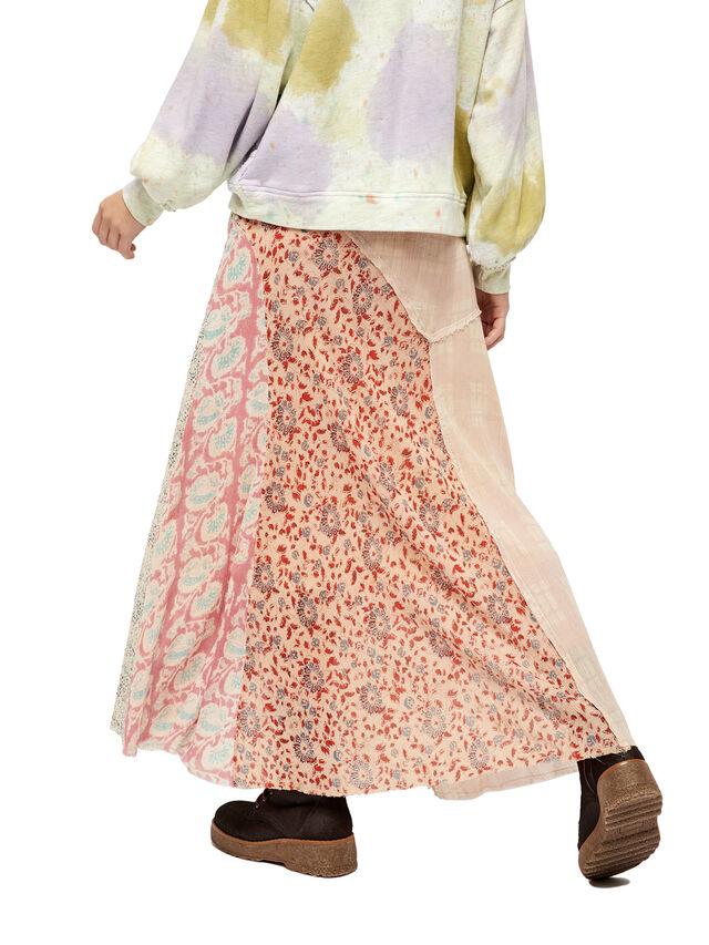 Palma Patchwork Skirt