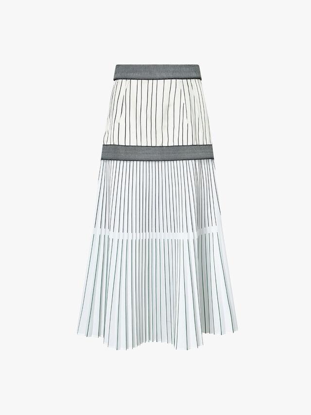 Ancona Pleated Skirt