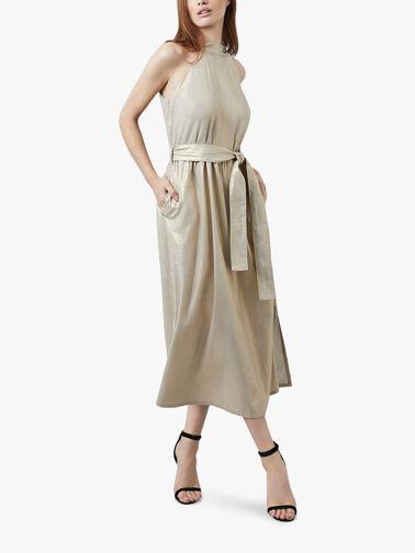 Metallic-Halter-Neck-Dress-607-26-08