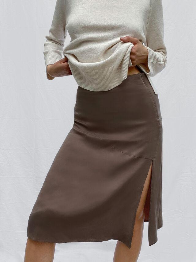 Carria Cupro Skirt