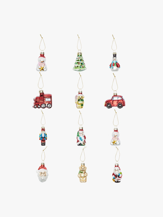 Painted Mini Christmas Decorations