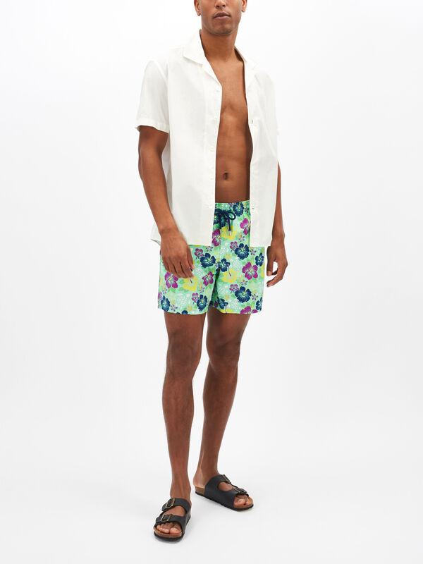 Tropical Turtles Swim Shorts