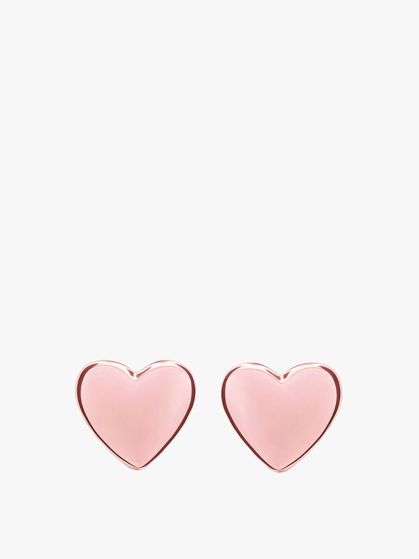 Harly Tiny Heart Stud Earrings