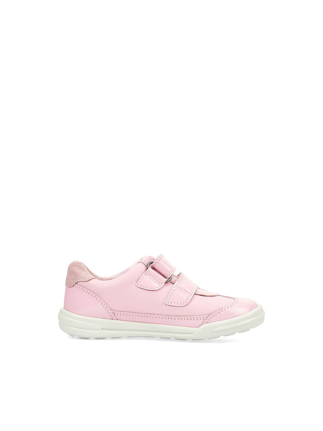 Seesaw Pink Leather Pre School Shoes