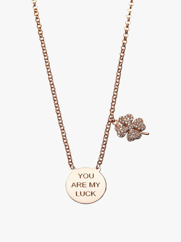 You Are My Lucky Clover Necklace
