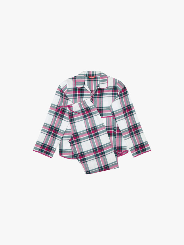 Penny Checks Long Sleeve Pyjama