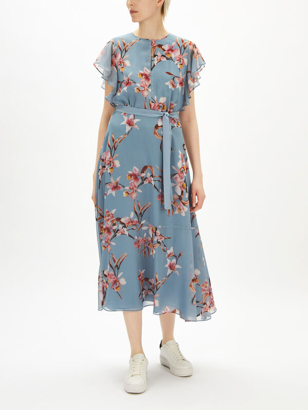 Offerta Frill Sleeve Dress
