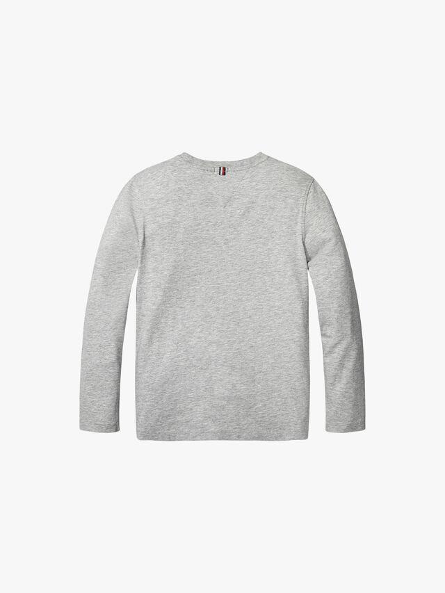 Basic Crew Neck Knit T-Shirt