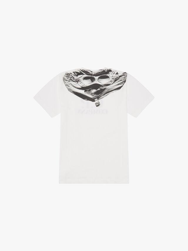 Goggle Back Print & Logo T-Shirt