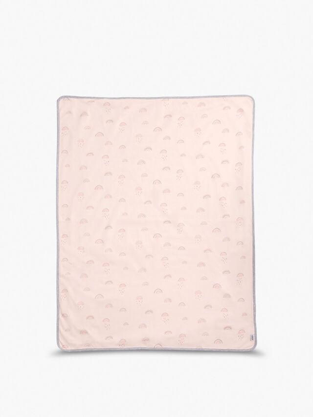 Jersey Rainbow Blanket