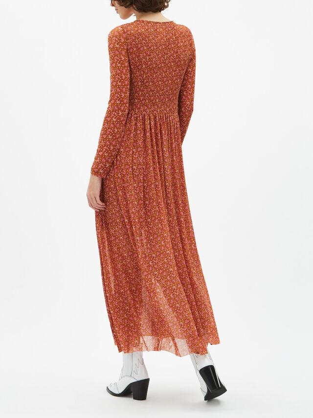Hello and Goodbye Midi Dress