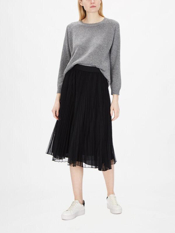 Pinza Tulle Midi Skirt