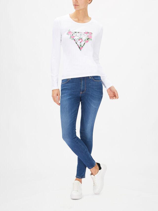 Vilma Long Sleeves Logo T-Shirt