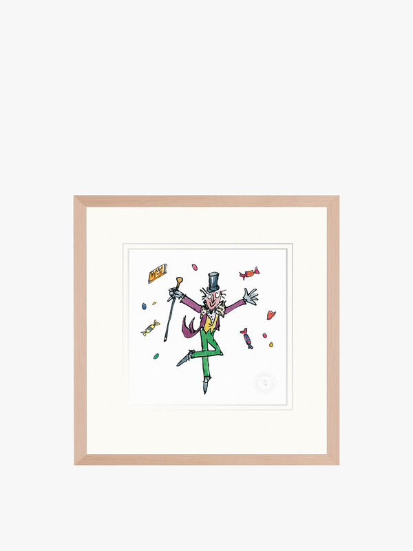 Charlie and the Chocolate Factory Framed Print by Fenwick (No.1)