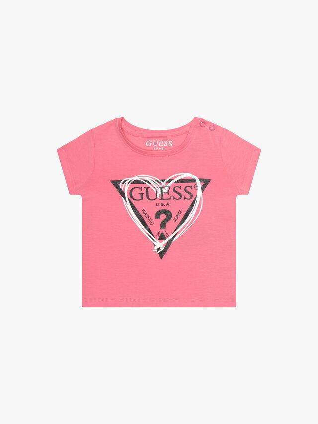 Short Sleeve Heart Icon T-Shirt