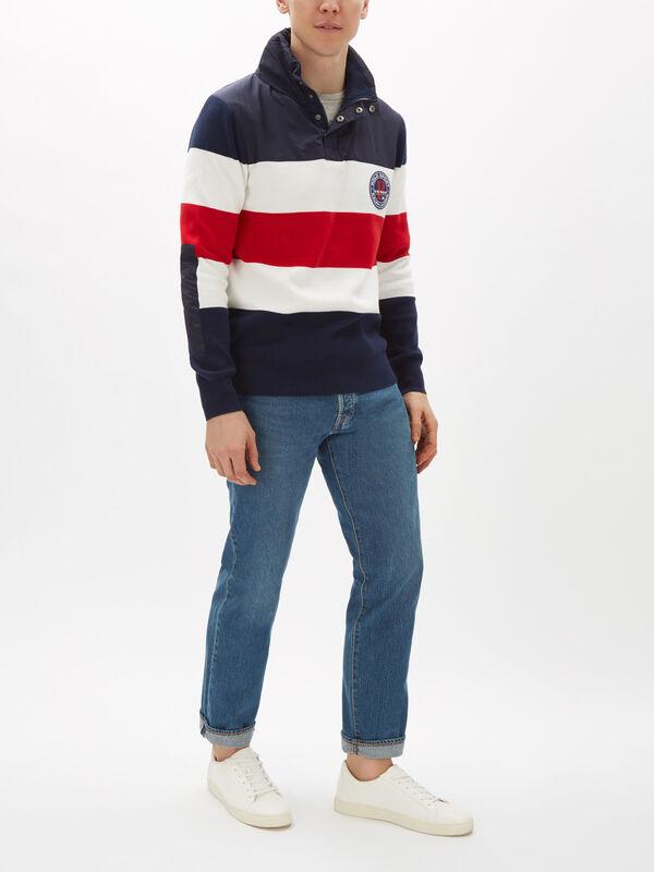 Hybrid Hooded Sweater