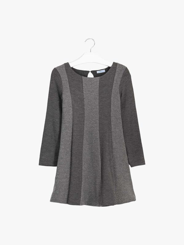 Lurex Stripe Dress