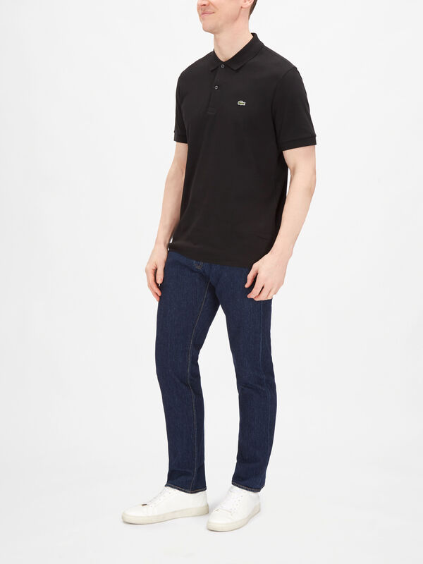 Short Sleeve Plain Jersey Polo Shirt