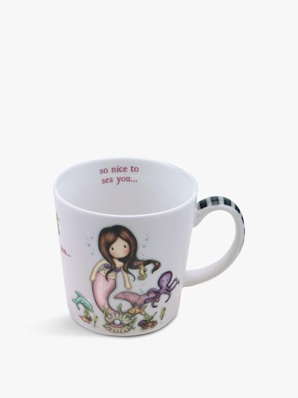 Gorjuss Large Mug Nice To Sea You