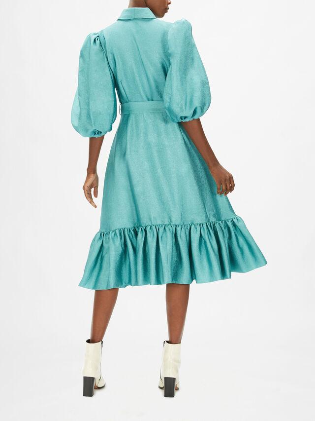 Chinie Midi Wrap Dress