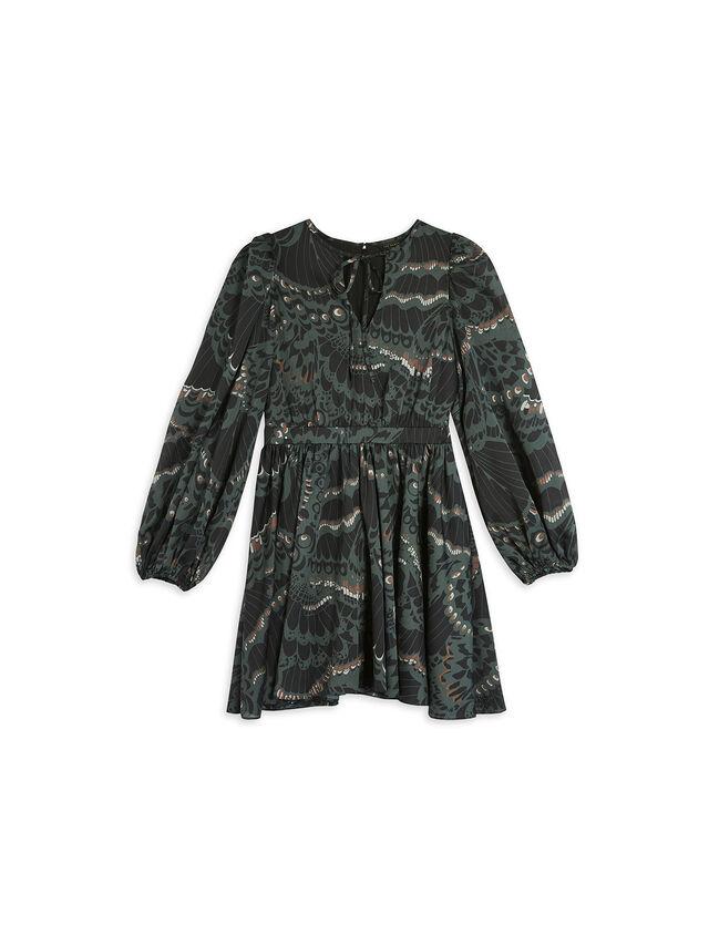 CHRISSY Full Skirted Mini Dress