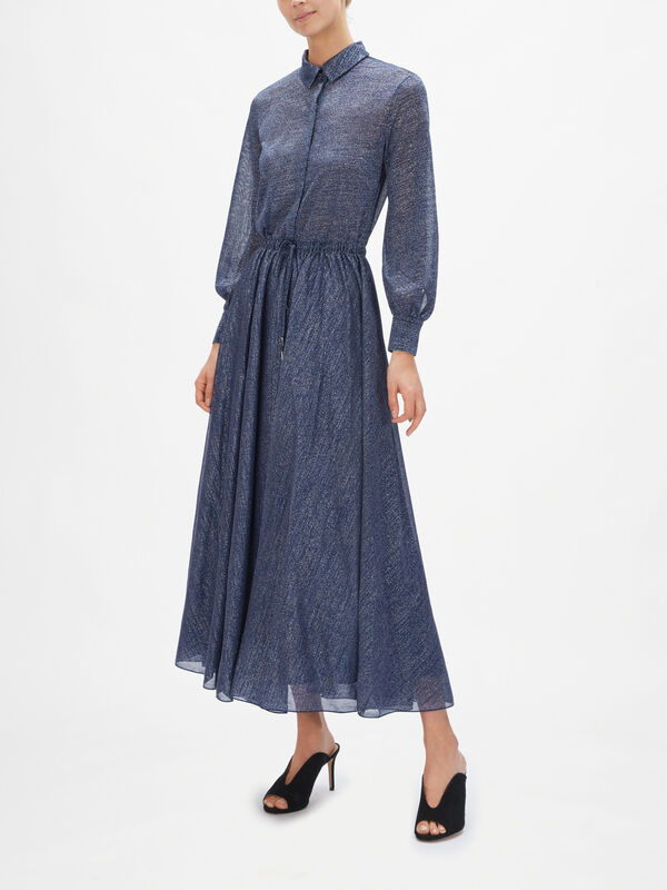 Pagabile Maxi Shirt Dress