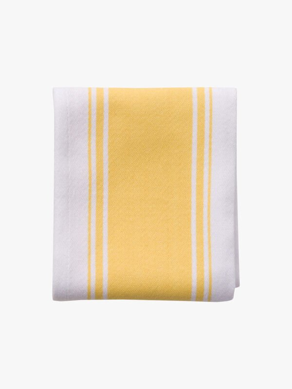 Love Colour Striped Tea Towel