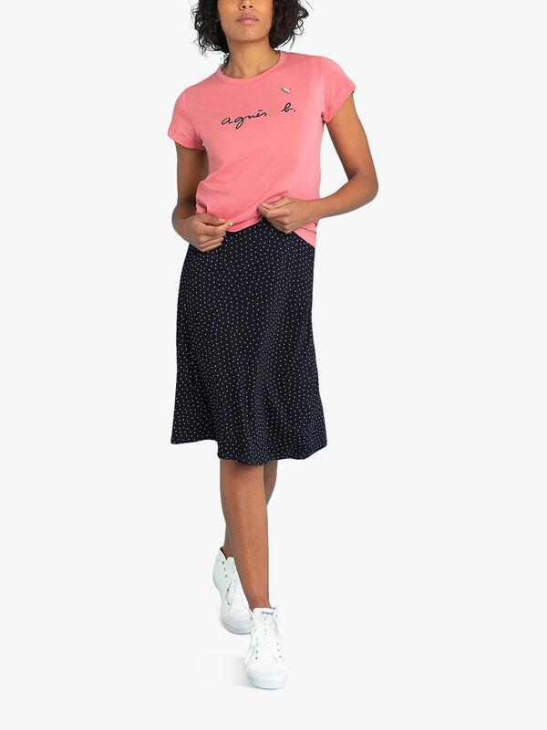 Knee Length Skirt Widen