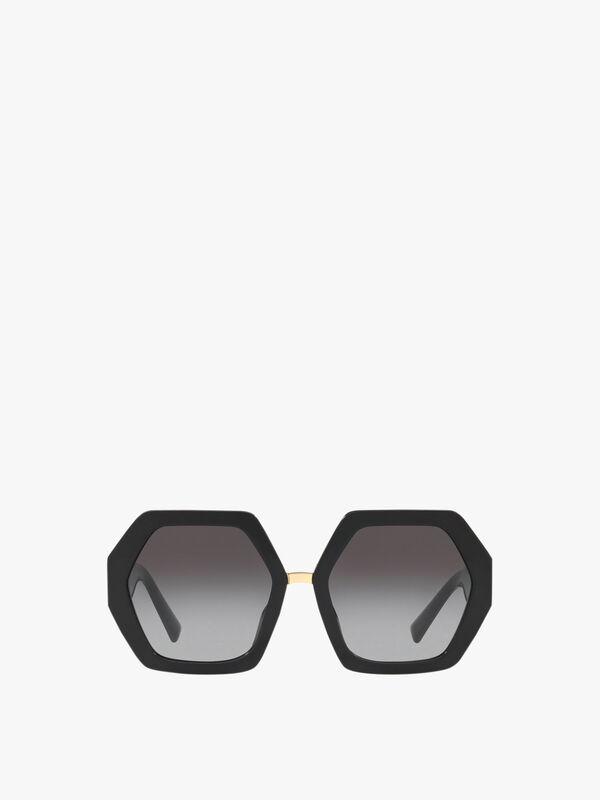 Oversized Hexaganol Sunglasses