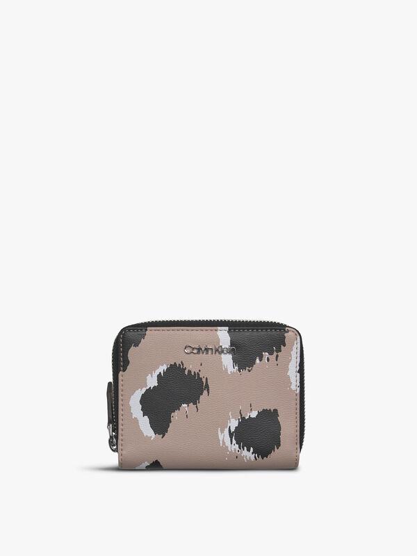 Enfold Medium Zip Printed Wallet