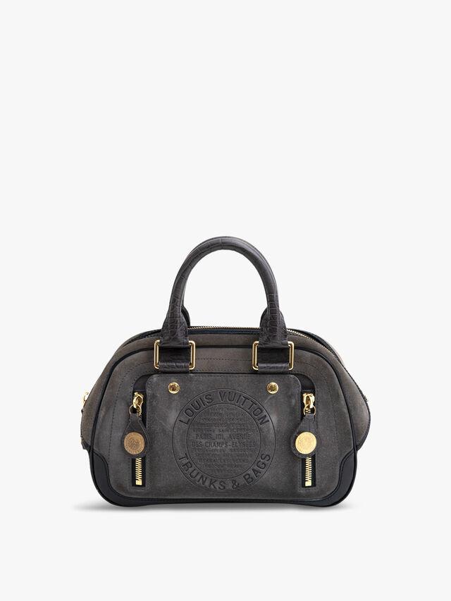 Louis Vuitton Havane Stamped Trunk GM