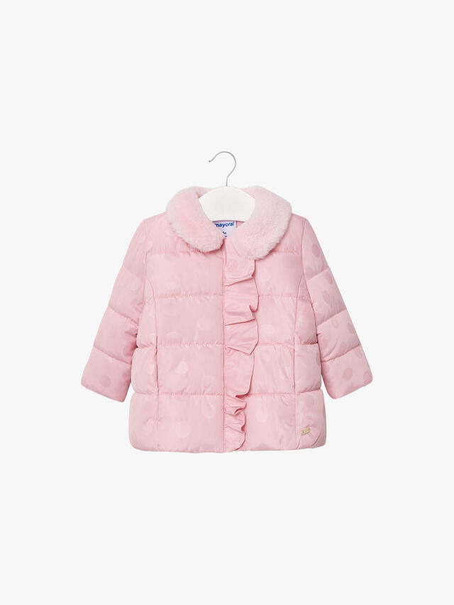 Spot Ruffle Padded Jacket