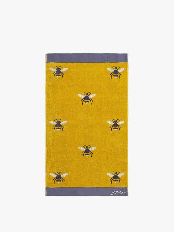 Botanical Bee Bath Towel