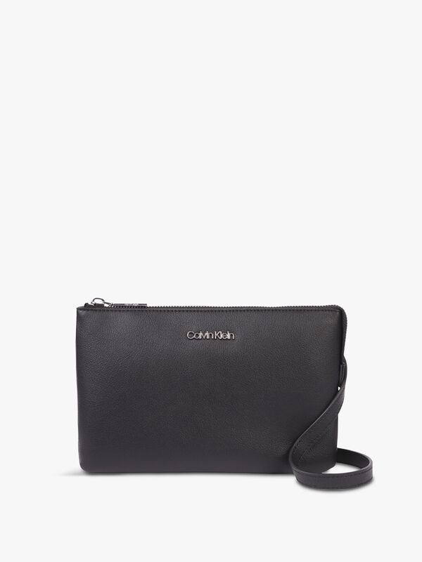 CK Must EW Double Compartment Crossbody