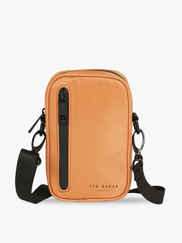 GABBEE Satin Nylon Crossbody Bag