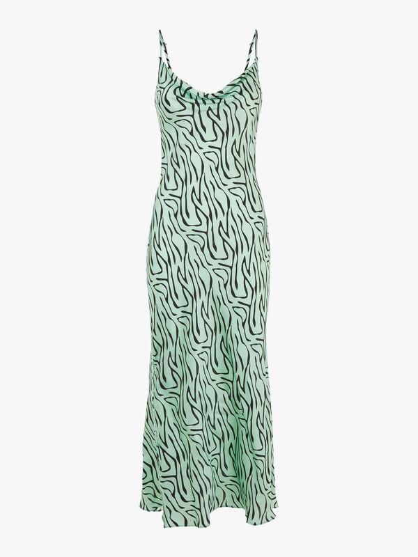 Lia Zebra Slip Dress