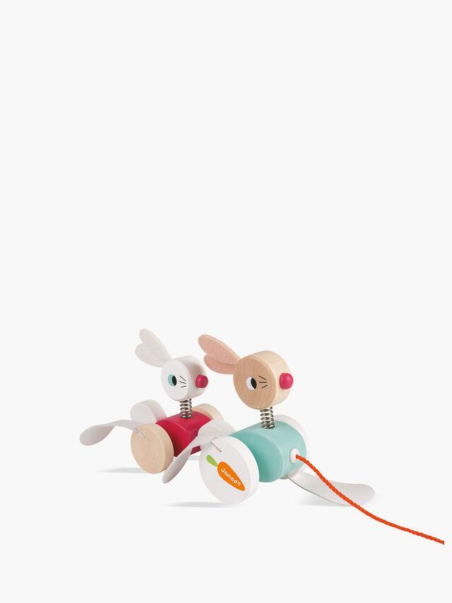 Zigolos Pull-Along Rabbits