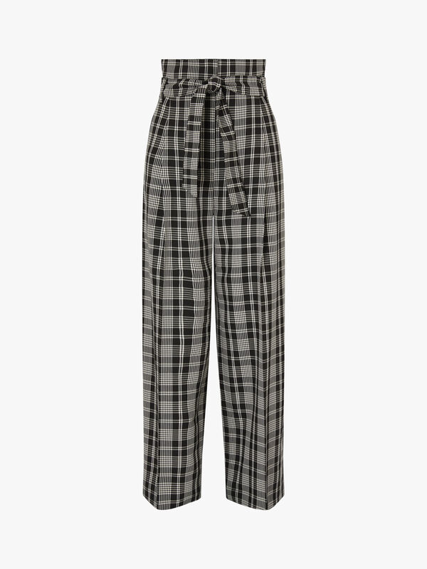 Cina Check Belted Trouser
