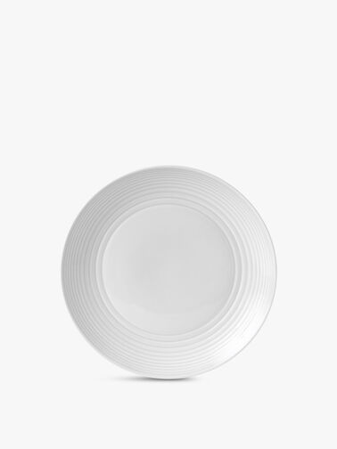 Maze White Plate 28cm