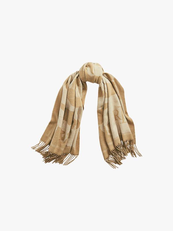 Equestrian Blanket Wrap Scarf