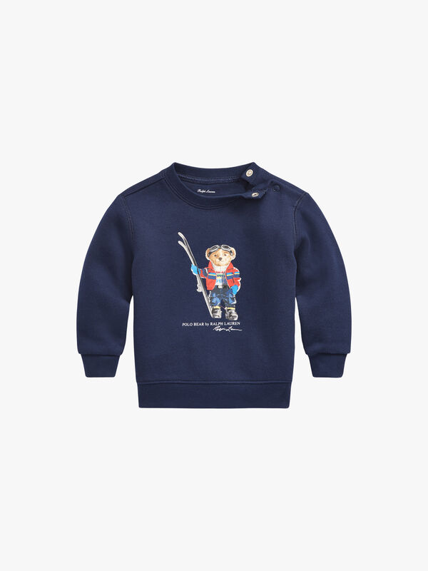 Ski Bear Fleece Sweatshirt
