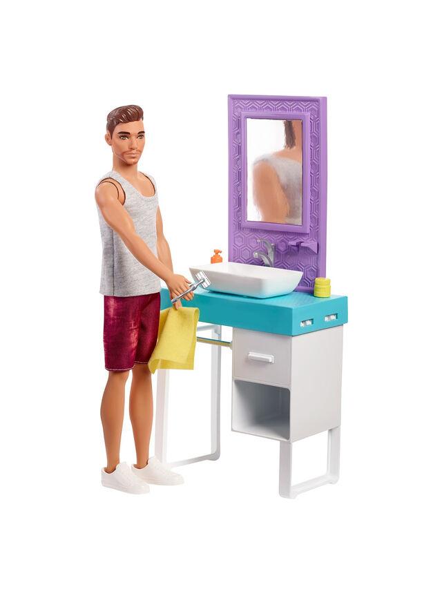 Ken Bathroom Playset