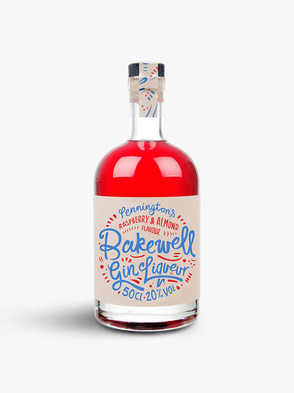 Bakewell Raspberry and Almond Liqueur 50cl