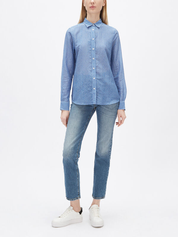 Signature Cotton Silk Shirt