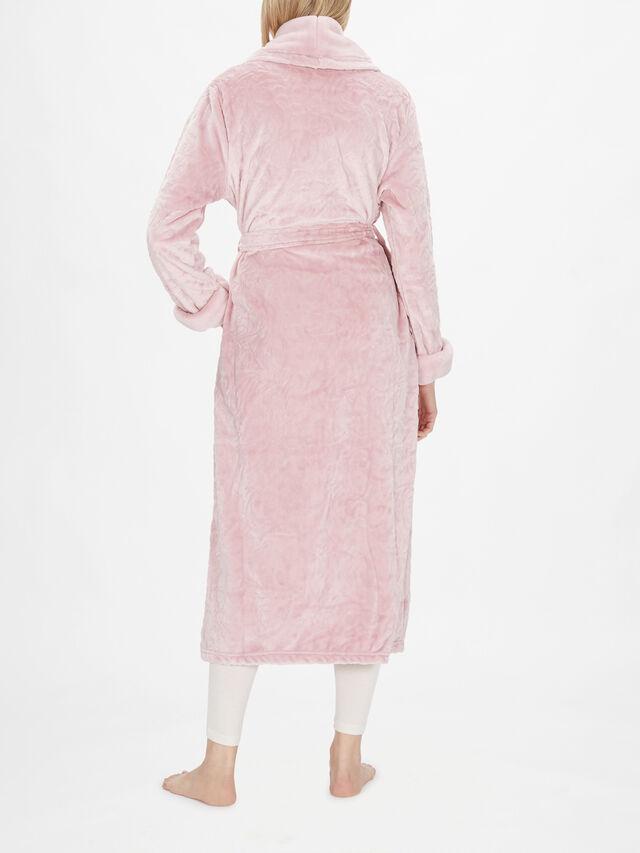 Long Sleeve Shawl Collar Wrap Robe