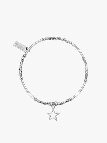 Open Star Charm Bracelet