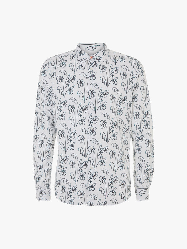 Thistle Print Tailored Fit Shirt