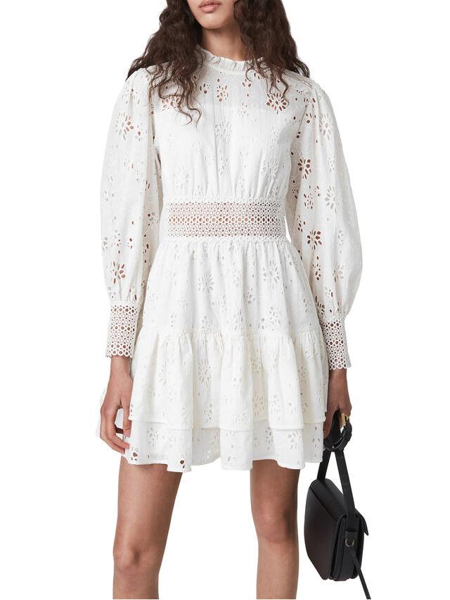 Annasia Broderie Dress