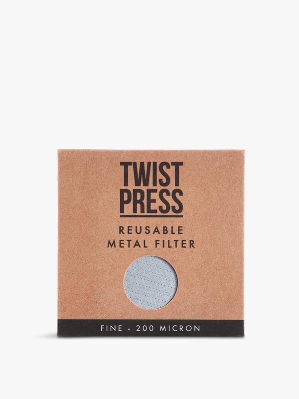 Twist Press Reusable